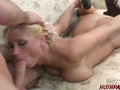 Big booty Devon Lee rode hard by James Deen