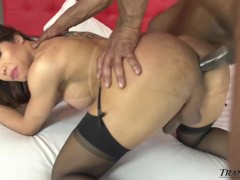Asian Shemale Ass Destroyed