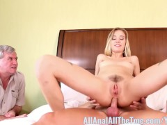 Hot blonde Haley Reed Cucks Her Dad AllAnal!