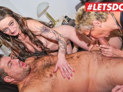 LETSDOEIT - Horny Mature German Wifes Fuck Their Neighbor