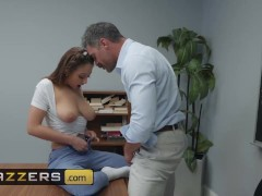BRAZZERS - Slutty schoolgirl Naughty Trade for a Good Grade
