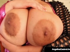 BBWs Angelina Castro & Samantha 38G Got Massive Tits!