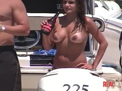 Raunchy Boat Party Sluts out of control 3