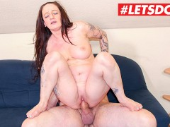 LETSDOEIT - Horny Milf Gets Kinky With her Young Neighbors Cock