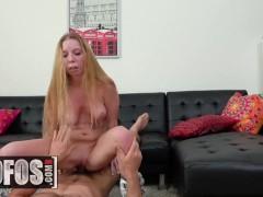 MOFOS - Cute ginger roller girl Macy Marx craves cock