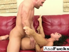 Asa loves to have herself some hardcore fun