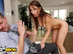 BANGBROS - Step Daughter Aidra Fox Takes Control Of Her Step Father