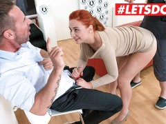 LETSDOEIT - Kinky RedHead Mommy Wants To Go In Porn Business
