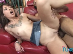 Coco Velvett interracial dirty fun