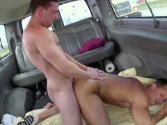 BAIT BUS - Straight Guy Named Mitchell Gets Tricked Into Having Sex With The Rock