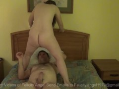 Felicity Angel Plays with best friend in Hotel Part 1