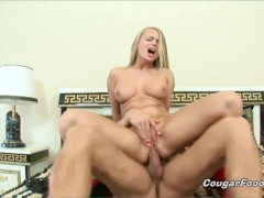 Horny mommie Dora Venter demanding for a rough anal pounding!