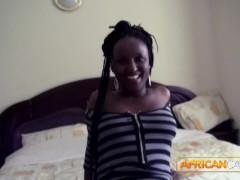 Sexy Ebony Gets Fucked In Her Amazin Ass