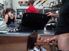 XXX PAWN - Latina Airline Stewardess Desperate For Money Agrees To Do The Unthinkable
