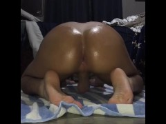 Latino Teen show his tight hole and feet