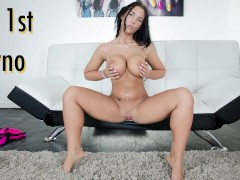 CULIONEROS - Hungarian Babe Kyra Hot's First Ever Sex Scene!