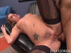 Jules Jordan - Tori Black Gets Her Ass Wrecked
