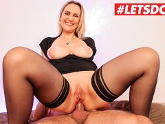 LETSDOEIT - French Milf Picked Up at Supermarket Gets Rough Anal