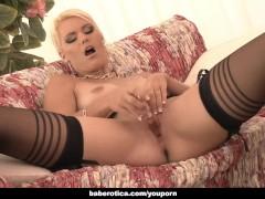 Masturbation session of Izzy Delphine looks fucking hot, in 4K