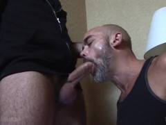 Nick Forte's an experienced daddy cocksucker