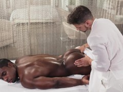 NoirMale FULL SCENE Sexy Fucking Massage 4 Hunk Black Daddy