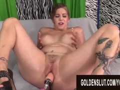 Golden Slut - Mature Women Getting Railed by Fucking Machines Compilation 7