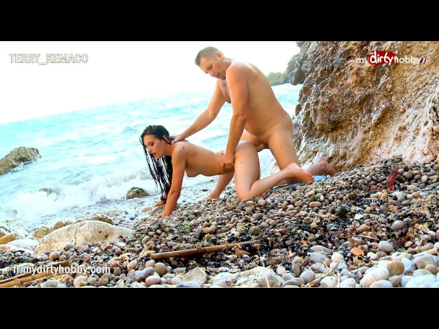 My Dirty Hobby - Hot Brunette Fucked on a Rocky Shore - Free Porn Videos - Cliporno