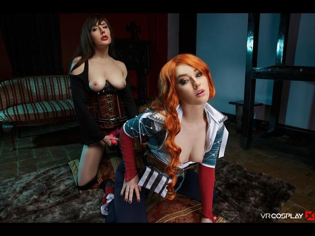 Vrcosplayx.com Yen and Triss Enjoy Lesbian Session in Witcher Xxx - Vidéos Porno Gratuites - Cliporno