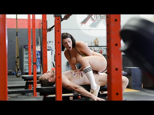 Teamskeet - Sliding Cock Into Workout Chick