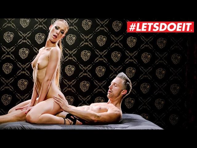 Letsdoeit - Kinky Teen Gets Tied Up and Fucked Hard