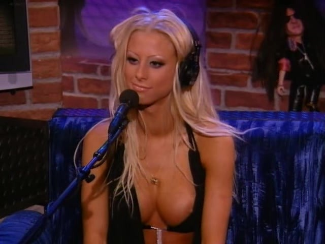 Porn star pantyhose on howard stern
