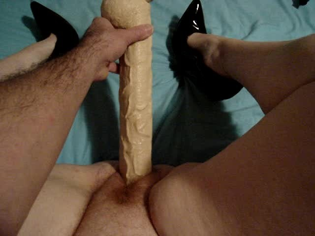Cristopher recommend best of huge fucking fake cock