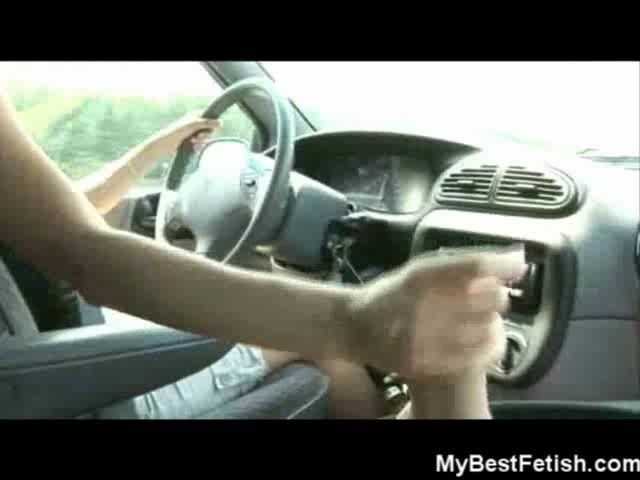 gloved handjob driving passenger - Handjob Wile Driving in Traffic With Tiffany - Free Porn Videos - YouPorn