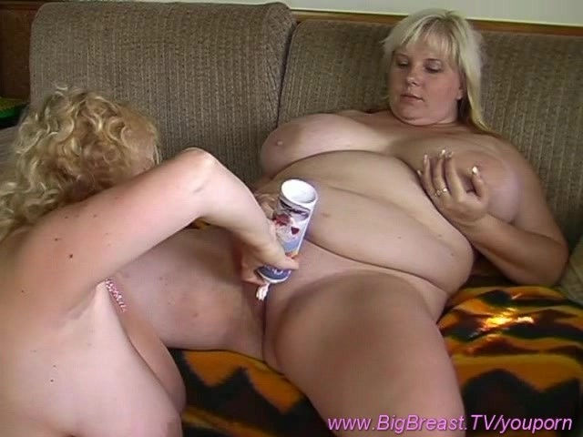 Women large masterbating breasted
