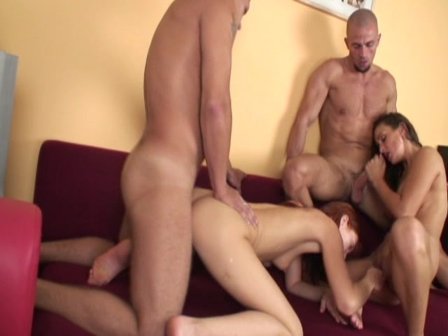 Homemade video of threesome