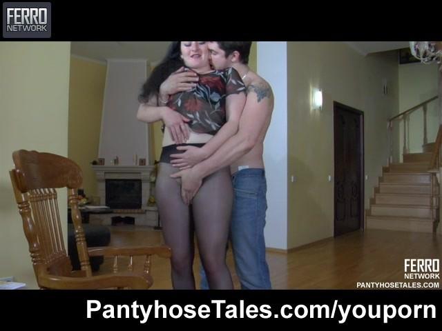 of hot pantyhose sex videos