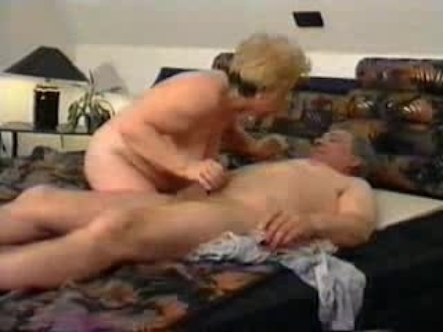 Horny housewife blow job