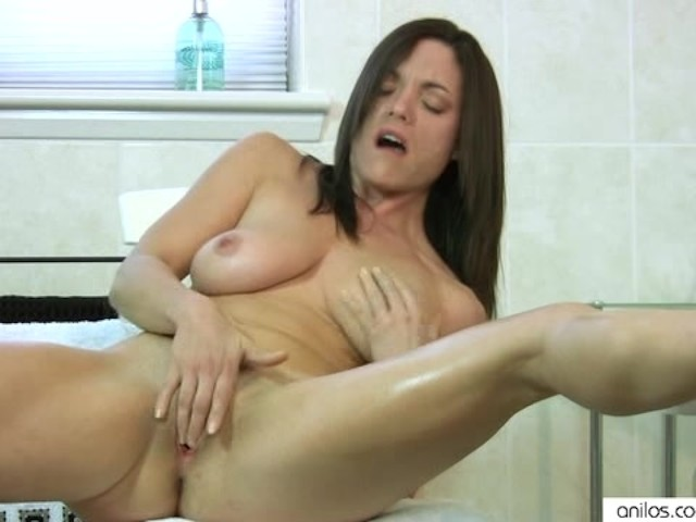 Hot milf fingers herself-4241