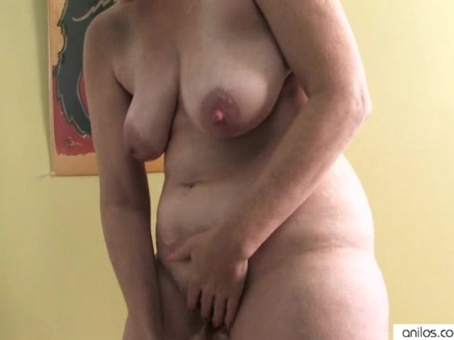 Naked ass masturbation