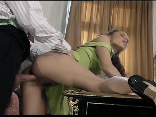image The butler fucks the 2 daughters of his boss