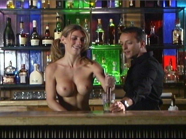 Topless barmaid video, bubblegum music is the naked truth