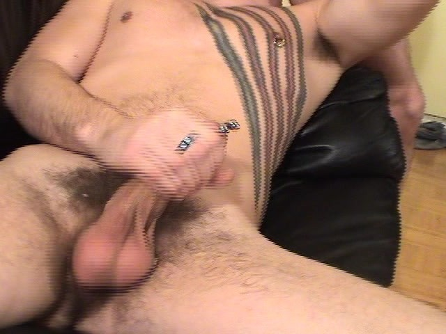 Pants hand choke neck and fillme with cum