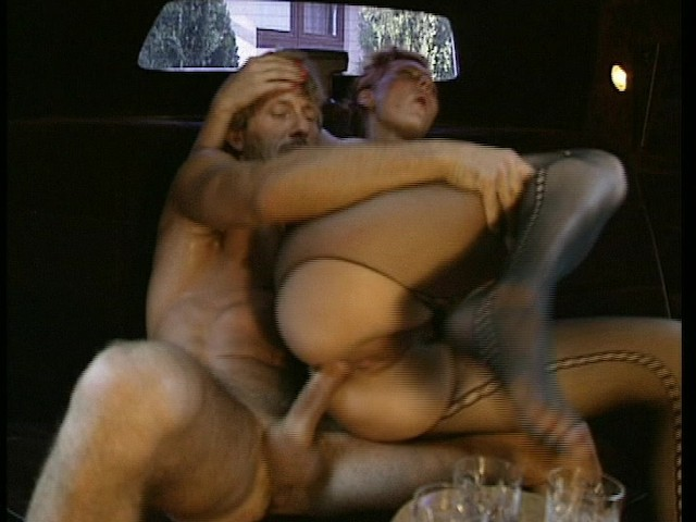 Fucked in a limo while friend is being fucked by 3 dudes (CLIP) #436362