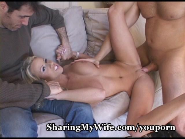 Girlfriend sharing porn
