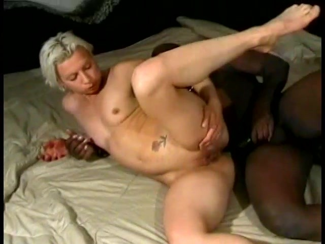 Homemade interracial video