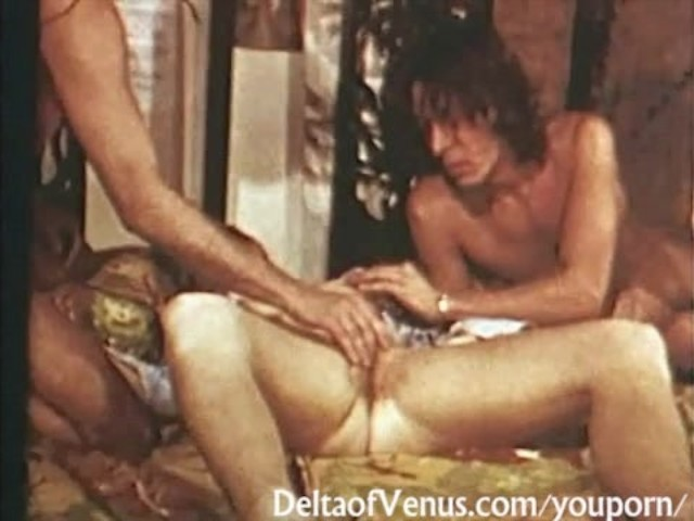 Retro Porn 1970S - Vintage Hairy Blonde Teen - Cant Get -3883