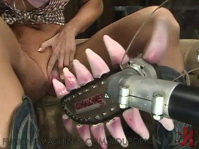Extreme dildo fuck machine permission to cum 8