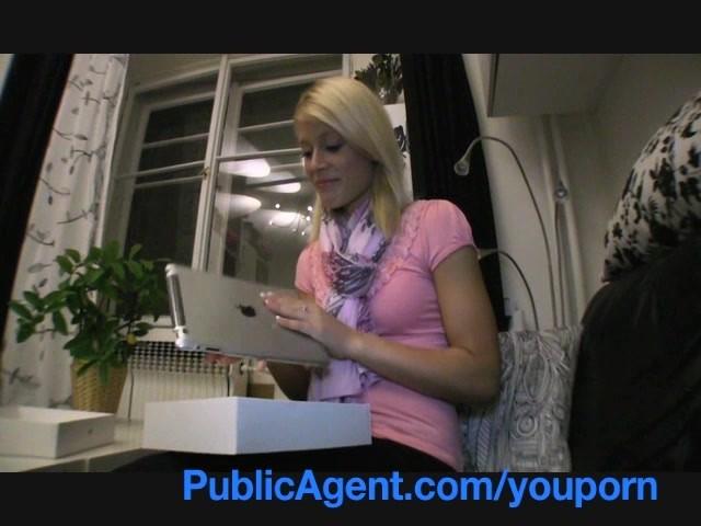 Fake Agent Uk Big Tits Blonde