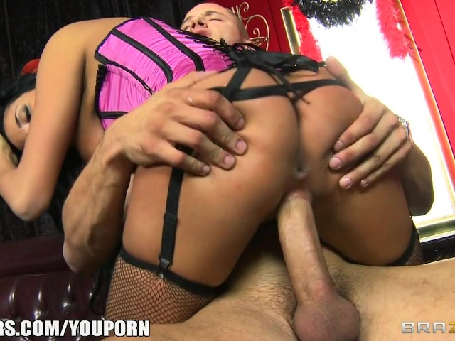 Sexy latina burlesque dancer anissa kate squirts on stage 9