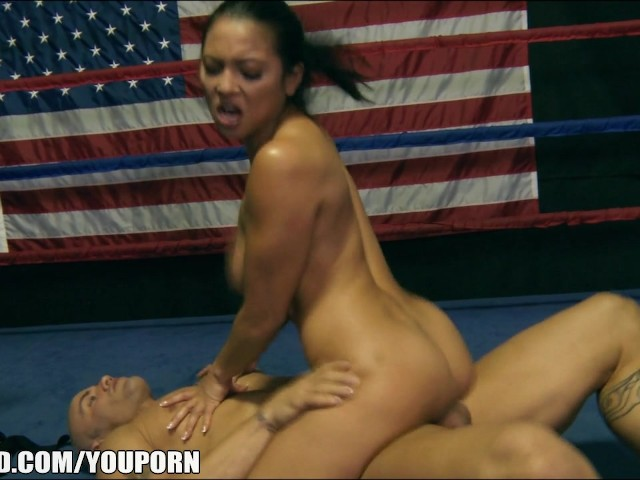 Adrianna luna gives her trainer an amazing blowjob 8